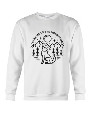 Take Me To The Mountains Crewneck Sweatshirt thumbnail