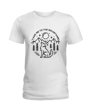 Take Me To The Mountains Ladies T-Shirt thumbnail