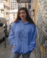 Never Walk Alone Hooded Sweatshirt lifestyle-unisex-hoodie-front-1