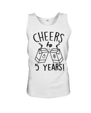 Cheers 5 Years Unisex Tank thumbnail