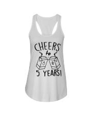 Cheers 5 Years Ladies Flowy Tank thumbnail