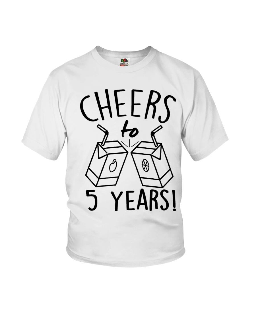 Cheers 5 Years Youth T-Shirt