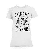 Cheers 5 Years Premium Fit Ladies Tee thumbnail