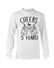 Cheers 5 Years Long Sleeve Tee thumbnail