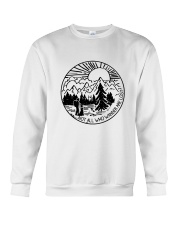 Not All Who Wander Crewneck Sweatshirt thumbnail