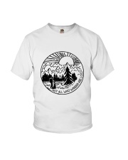 Not All Who Wander Youth T-Shirt thumbnail