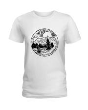 Not All Who Wander Ladies T-Shirt thumbnail