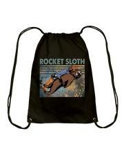 Rocket Sloth Drawstring Bag thumbnail