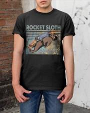 Rocket Sloth Classic T-Shirt apparel-classic-tshirt-lifestyle-31