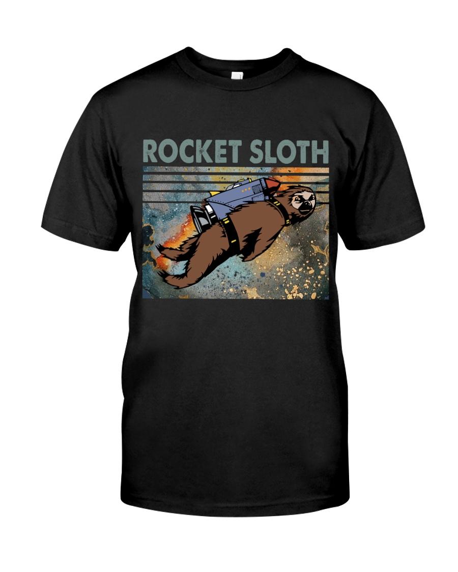 Rocket Sloth Classic T-Shirt