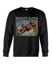 Rocket Sloth Crewneck Sweatshirt thumbnail