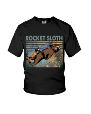 Rocket Sloth Youth T-Shirt thumbnail