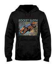 Rocket Sloth Hooded Sweatshirt thumbnail