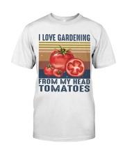 I Love Gardening Classic T-Shirt front