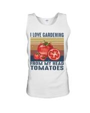 I Love Gardening Unisex Tank thumbnail