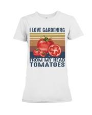 I Love Gardening Premium Fit Ladies Tee thumbnail