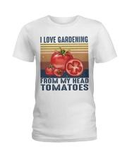 I Love Gardening Ladies T-Shirt thumbnail