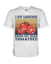 I Love Gardening V-Neck T-Shirt thumbnail
