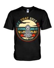Let That Go V-Neck T-Shirt thumbnail