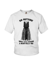 Go Outside Youth T-Shirt thumbnail