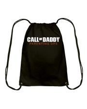 Call Of Daddy Drawstring Bag thumbnail