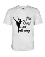 Pile Chasse Jese All Day V-Neck T-Shirt thumbnail