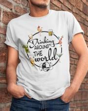 Drinking Around The World Classic T-Shirt apparel-classic-tshirt-lifestyle-26
