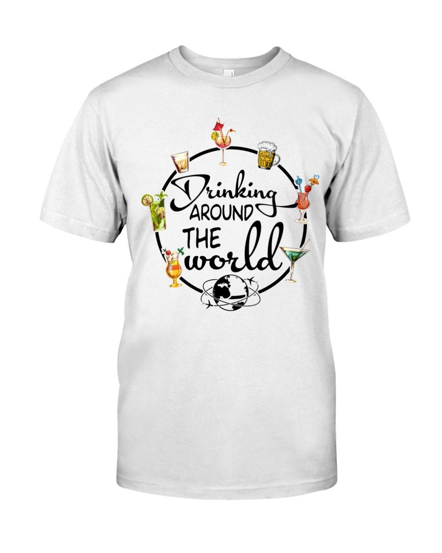Drinking Around The World Classic T-Shirt