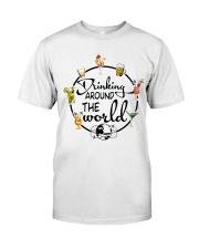 Drinking Around The World Classic T-Shirt front