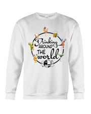 Drinking Around The World Crewneck Sweatshirt thumbnail