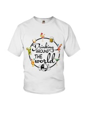 Drinking Around The World Youth T-Shirt thumbnail