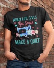 When Life Gives You Scraps Classic T-Shirt apparel-classic-tshirt-lifestyle-26