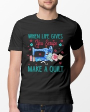 When Life Gives You Scraps Classic T-Shirt lifestyle-mens-crewneck-front-13