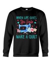 When Life Gives You Scraps Crewneck Sweatshirt thumbnail