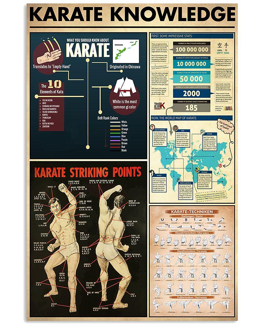 Karate Knowledge 11x17 Poster