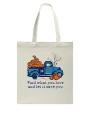 Find What You Love Tote Bag thumbnail