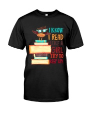 Love Reading Classic T-Shirt front