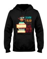 Love Reading Hooded Sweatshirt thumbnail