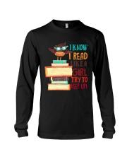 Love Reading Long Sleeve Tee thumbnail