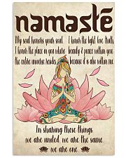Namaste 11x17 Poster front