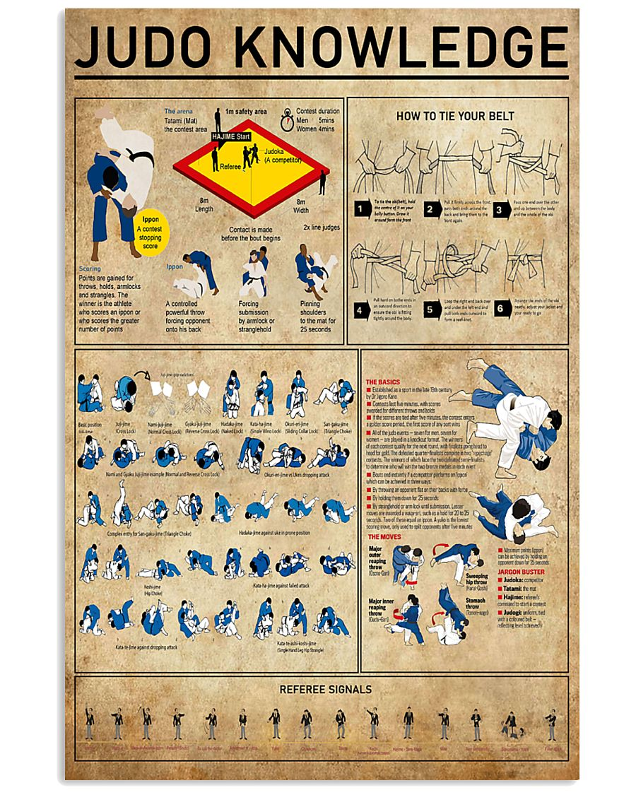 Judo Knowledge 11x17 Poster