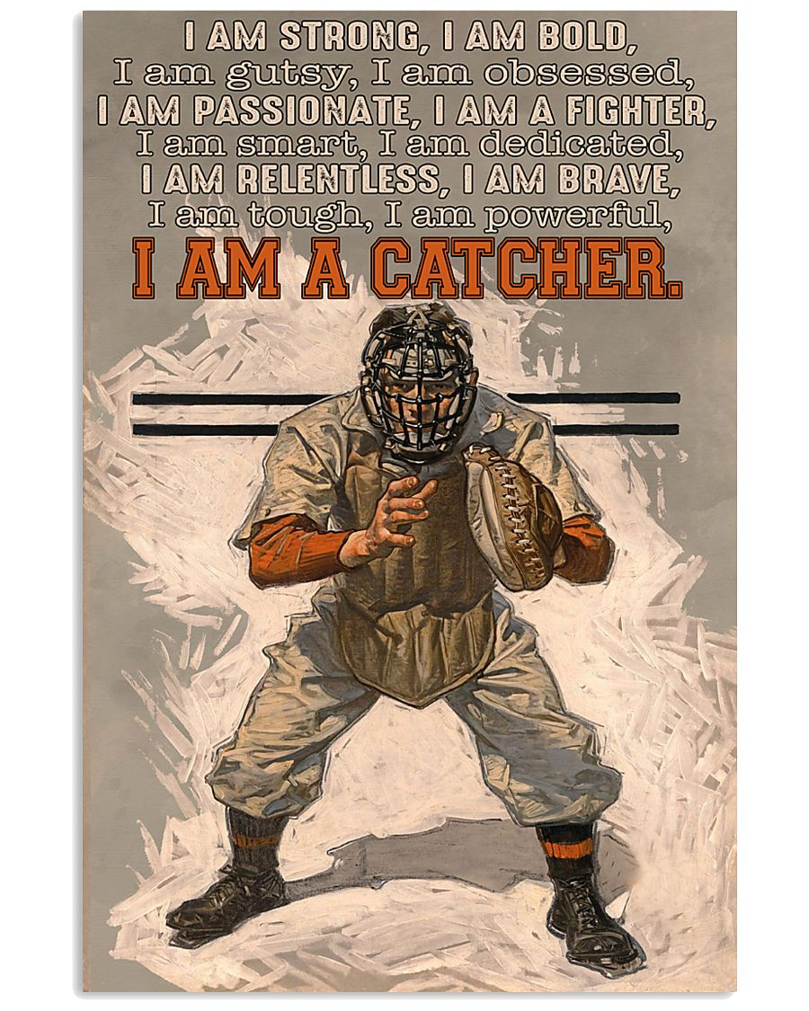 I Am A Catcher 11x17 Poster