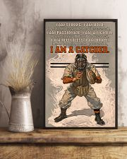 I Am A Catcher 11x17 Poster lifestyle-poster-3