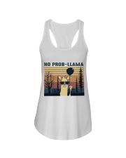 Llama Ladies Flowy Tank thumbnail