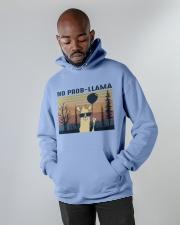 Llama Hooded Sweatshirt apparel-hooded-sweatshirt-lifestyle-front-09