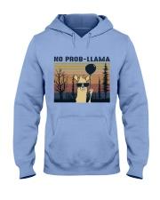 Llama Hooded Sweatshirt front
