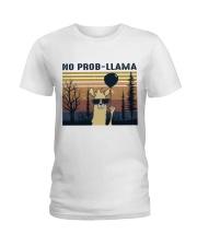 Llama Ladies T-Shirt thumbnail