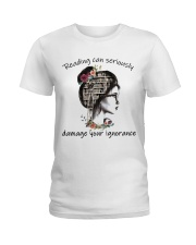 Reading Can Seriously Ladies T-Shirt thumbnail
