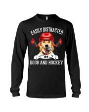 Dogs And Hockey Long Sleeve Tee thumbnail