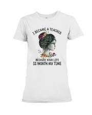 I Became A Teacher Premium Fit Ladies Tee thumbnail